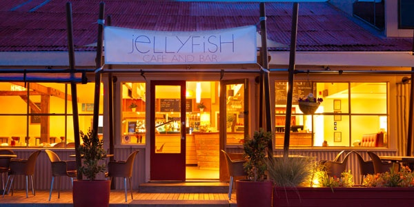 Seafront Restaurant - Jellyfish Cafe and Bar, Mapua Wharf, Nelson, New Zealand
