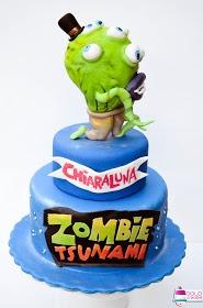 ! Dolci Creativi di Sarù - Torte decorate: Zombie Tsunami cake