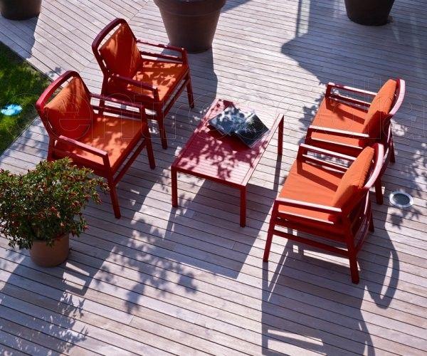Tavolino terrazzo ~ Set sedie poltrone e tavolo tavolino in resina da esterno