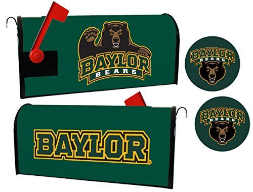 Baylor Bears Magnetic Mailbox Cover  Sticker Set -- More info could be found at the image url.