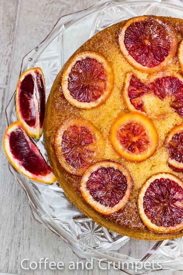 Blood Orange Upside Down Cake 1 Blood Orange Upside Down Cake