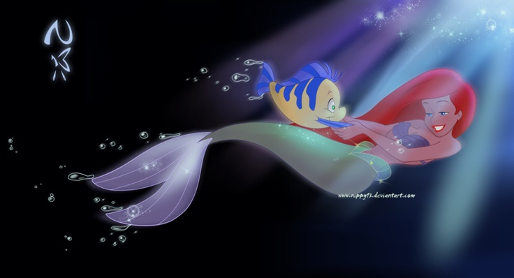 Flipping your fins <3