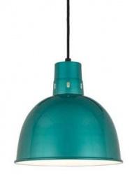 Turquoise Barn Light Pendant