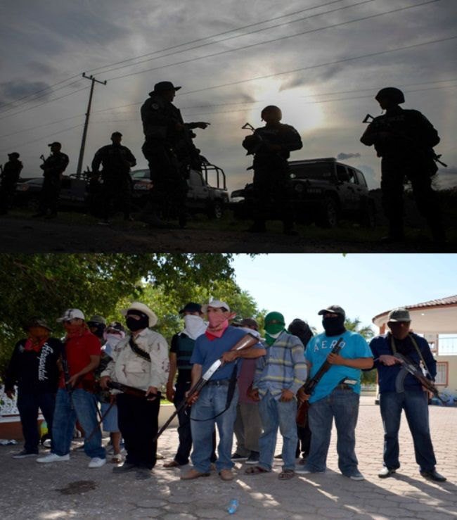 Fuerzas federales y civiles armados se enfrentan en Buenavista Tomatlán - http://notimundo.com.mx/mexico/fuerzas-federales-y-civiles-armados-se-enfrentan-en-buenavista-tomatlan/28594