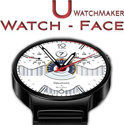 Hurricane Pilot Watch Face [U-wmwatchface]