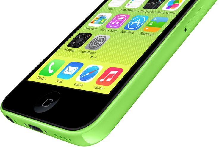 Iphone 5c (Grøn)