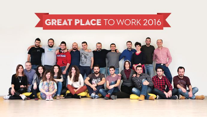 Our office is a Great Place to Work! #tophost #greatplacetowork #bestworkplaces2016