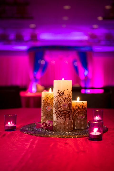 Mehndi Day Decoration : Mehndi decor diy candles wedding henna