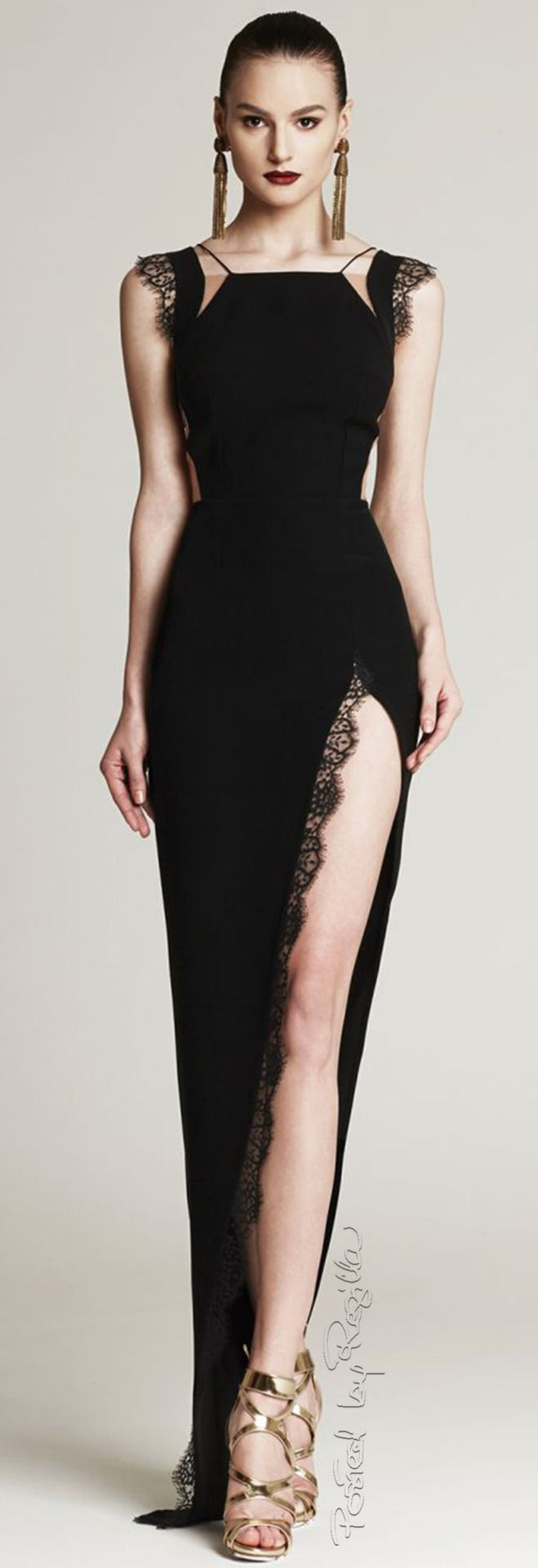 Lace dress in black august 2019  best Dress prom images on Pinterest  Ball gown Cute dresses