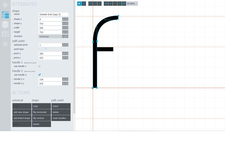 Glyphr Studio, the free HTML5 based font editor. You can create your own fonts.