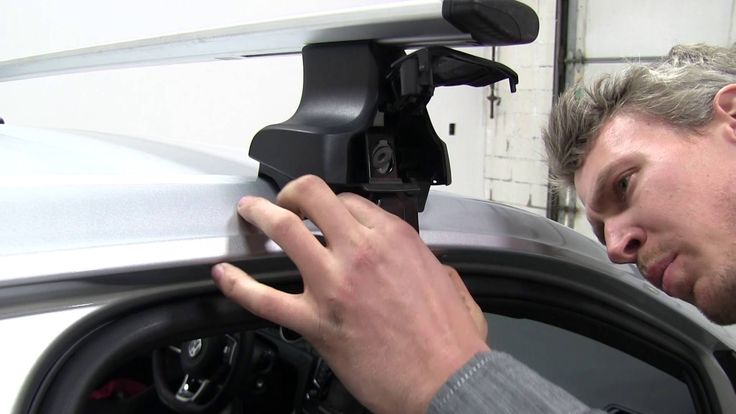 Review of the Thule  Roof Rack on a 2015 Volkswagen Golf - etrailer.com