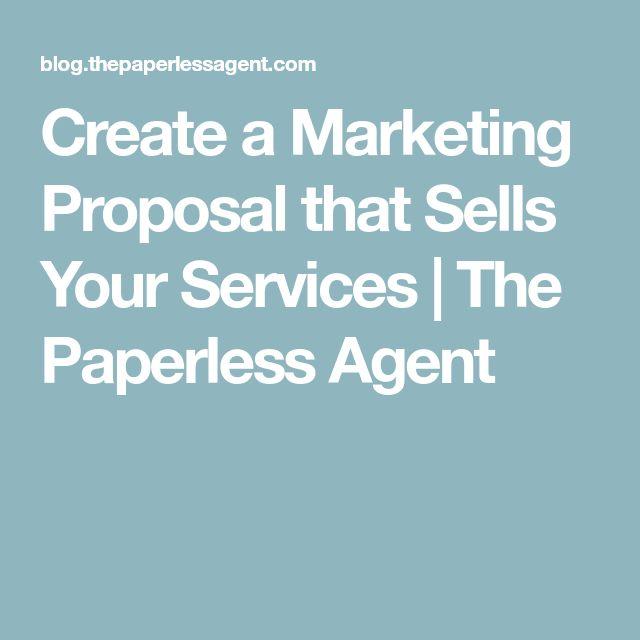 Best 25+ Marketing proposal ideas on Pinterest Pitch colour - marketing proposal letter