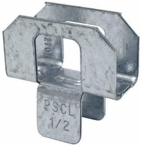 """Simpson Strong-Tie PSCL 1/2 Plywood Panel Sheathing Clip, 1/2"""""""