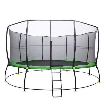 Our HyperJump Plus trampolines are a great mix of safety and fun to encourage kids to enjoy healthy outdoor play. All HyperJumps Plus come equipped with high quality components, extra bouncy zinc-plated steel springs, curved safety poles for more jumping room, a smart fiberglass ring design for extra strength on the enclosure netting, thick & wide pads to ensure better coverage over springs, fully UV resistant materials to withstand the harsh Australian climate, backed by an industry-lead...