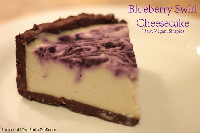 Earth Diet cheese cake