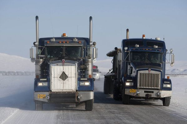 ice truckers | Ice Road Truckers scene photo - Ice Road Truckers picture #23 of 129