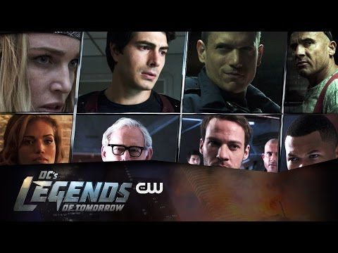Outcasts Assemble In The Latest Trailer For DC's Legends Of Tomorrow - It's All The Rage