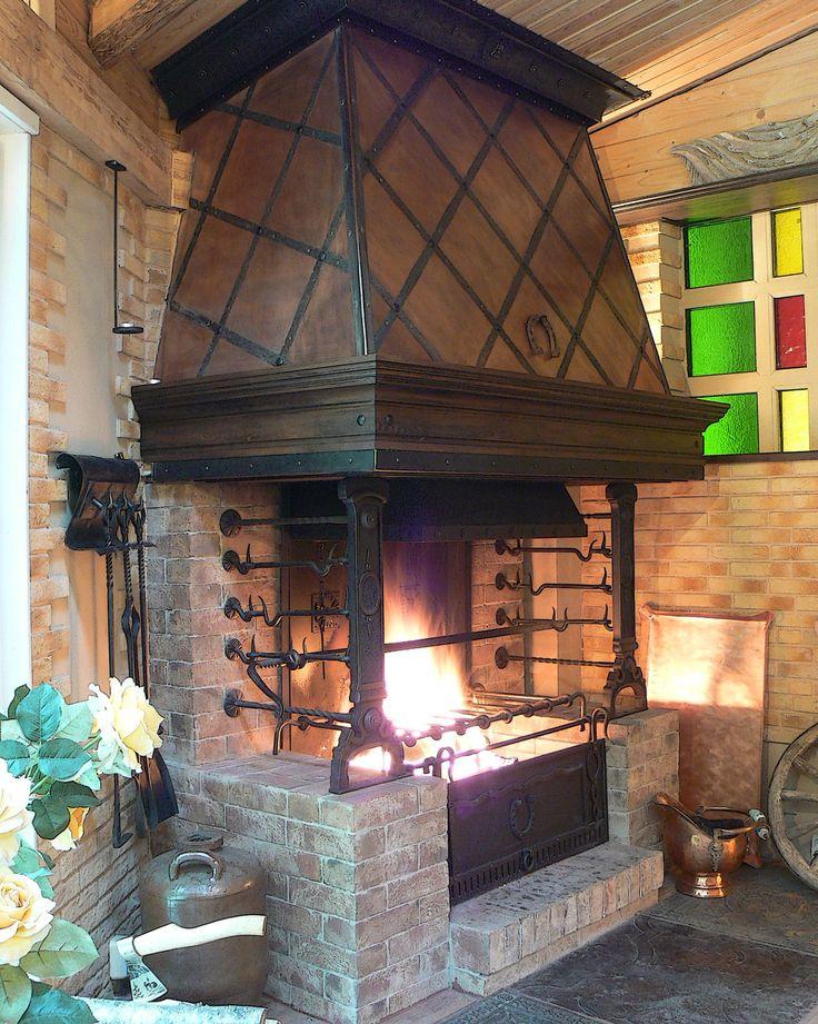 Mejores 3439 im genes de chimeneas hornos de barro y piedra parrillas bbq y fogones en - Chimeneas de barro ...