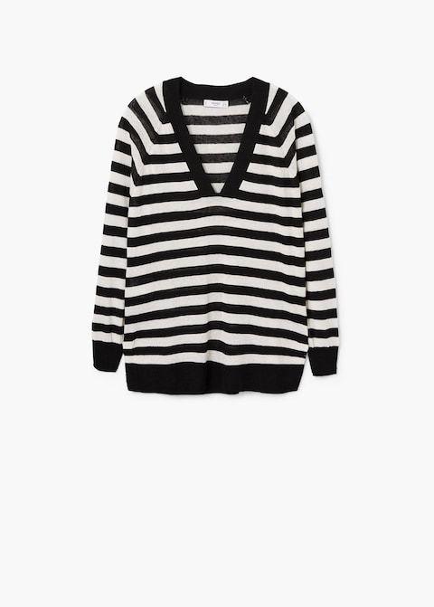 finest selection 6e6b2 63ef6 Gestreifter leinenpullover - Damen | the LOOK | Sweaters ...