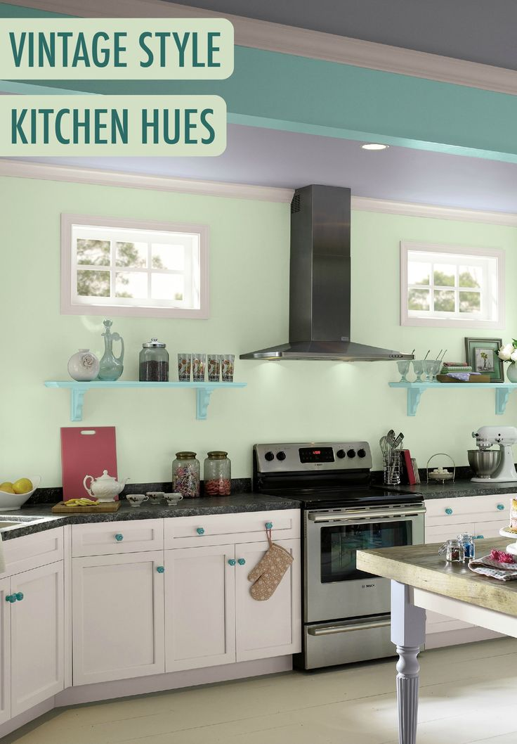 vintage kitchen paint colors 92 best colorful kitchens images on colorful 6827