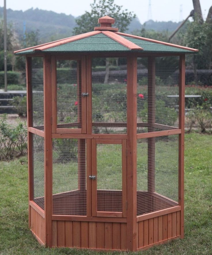 6' Large Pet Parrot Cage Macaw Cockatiel Conure Bird AVIARY Bird finch Supplies #ChickenCoopOutlet