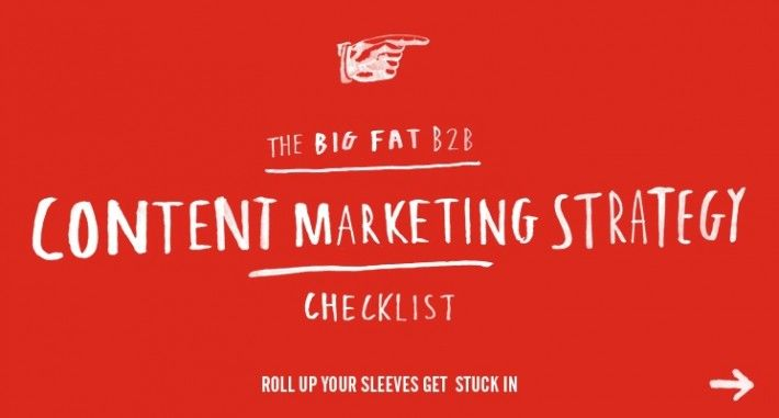 Great content marketing starts with a sharp content marketing strategy. This Checklist will help you sharpen yours.