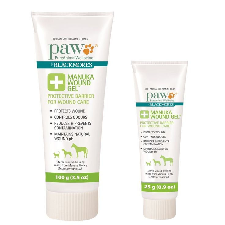 PAW BY BLACKMORES MANUKA WOUND GEL FOR CATS, DOGS & HORSES