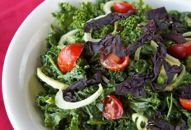 ... about Salad on Pinterest | Kale, Roasted corn salad and Dressing