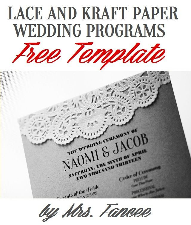 The 25+ best Free program templates ideas on Pinterest Wedding - programs templates free