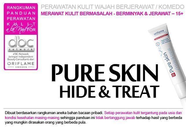Pure Skin Hide & Treat  #perawatan #kulit #wajah #jerawat #komedo #bermasalah #berminyak #15+ #tipsdBCN #Oriflame