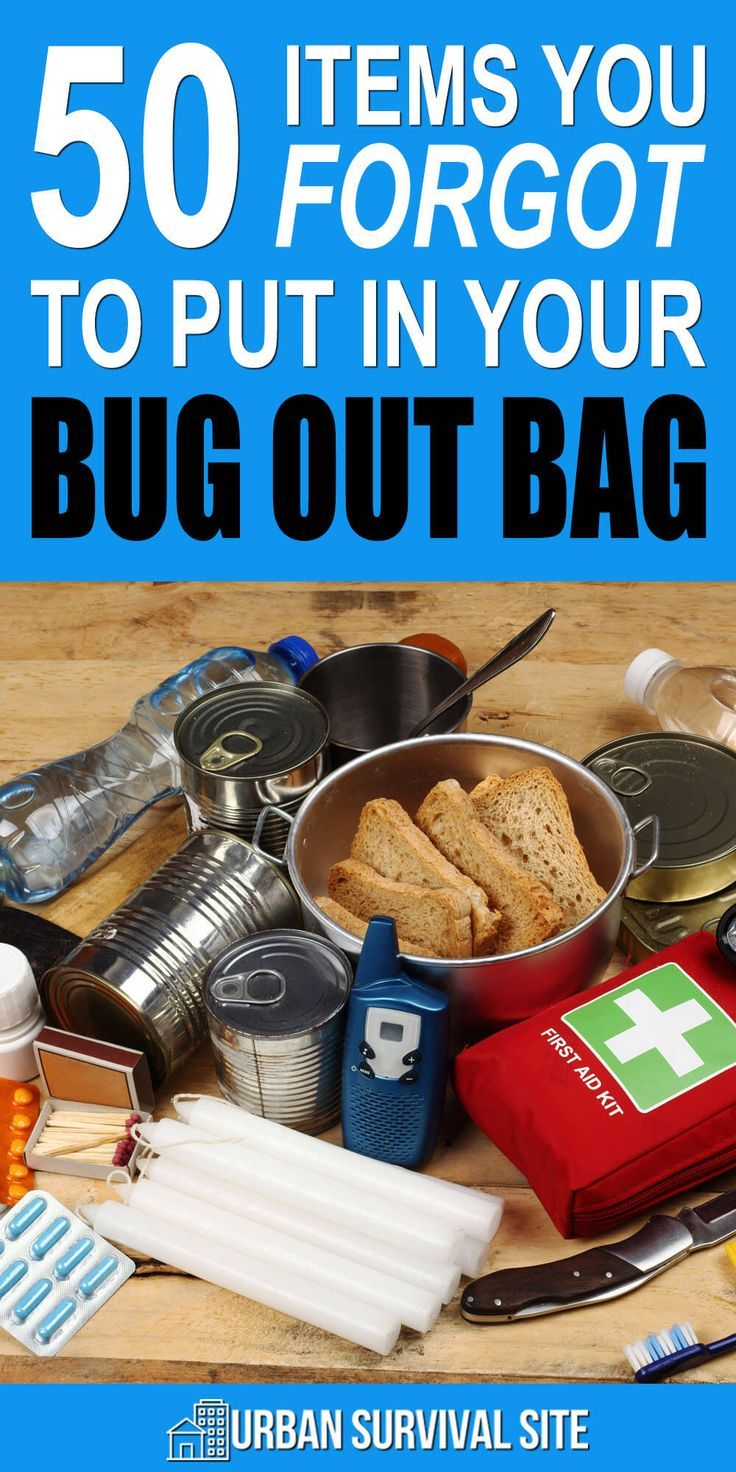 Top 100 Survival Items You Forgot To Put In Your Bug Out Bag Bug Out Bag Survival Items Emergency Preparation