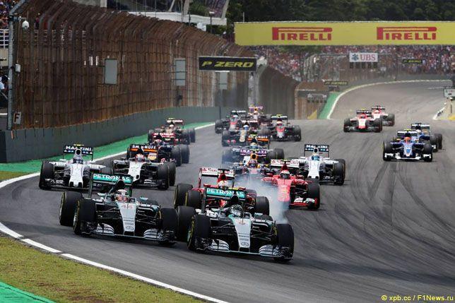 Старт Гран При Бразилии, 2015 год