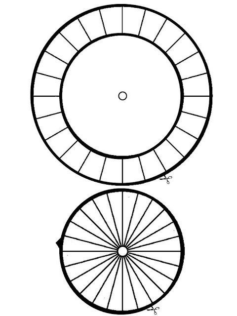 Image Result For Decoder Wheel Blank