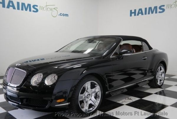 Used 2007 Bentley Continental GT for Sale in Lauderdale Lakes, FL – TrueCar