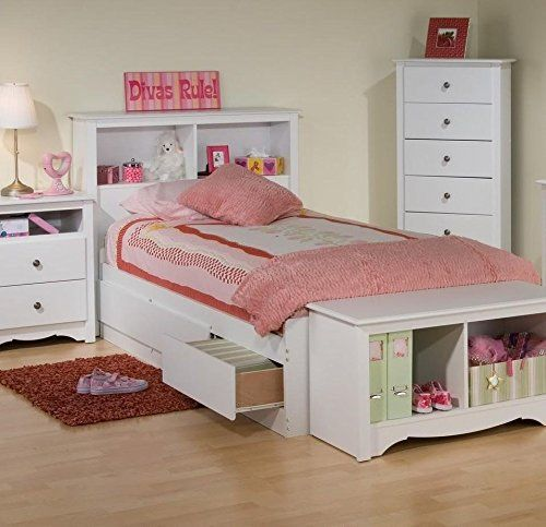 Prepac Monterey White Twin Bookcase Platform Storage Bed For Sale https://woodbunkbedsforkids.info/prepac-monterey-white-twin-bookcase-platform-storage-bed-for-sale/