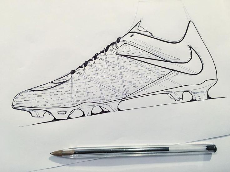 Shoe Sketches, Product Sketch, Active Design, Football Boots, Croquis,  Industrial, Football Shoes, Sketchbooks, Pattern Cutting