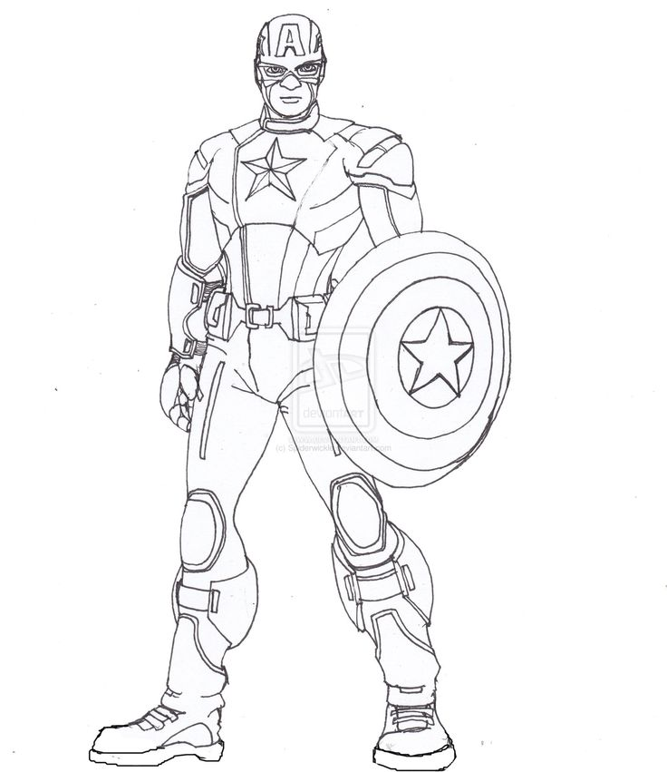 Captain America Lines by ConstantM0tiondeviantart on