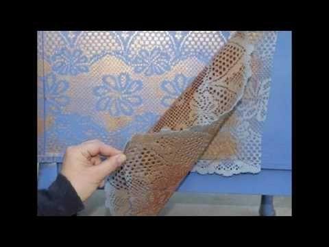 Создание литого кружева Авторская методика Наталья Большакова Университет Декупажа - YouTube