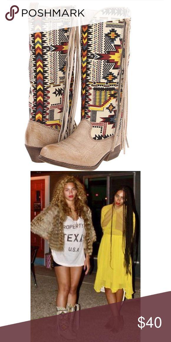 Big Buddha Boots Big Buddha Boots as seen on Beyoncé. Used with box. Big Buddha Shoes