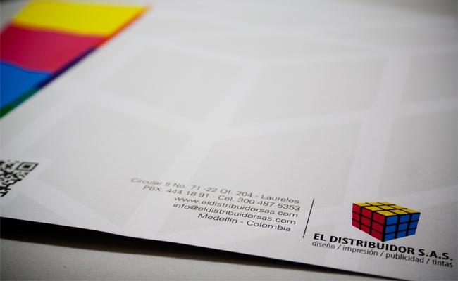 La Quinta Diseño Estrategico - Impresos - Hojas Membretes El Distribuidor S.A.S.