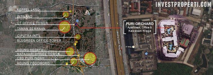 Peta Lokasi Puri Orchard Jakarta