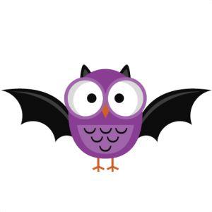 Purple Halloween Owl SVG cutting file halloween owl svg cut