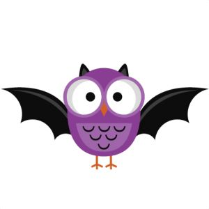 Purple Halloween Owl SVG cutting file halloween owl svg cut