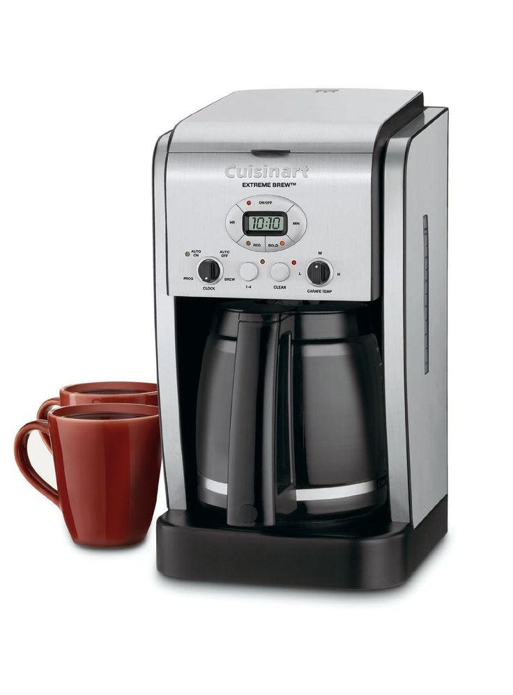 Cuisinart DCC-2650 Brew Central 12-Cup Programmable Coffeemaker- because you're too busy keeping up with technology