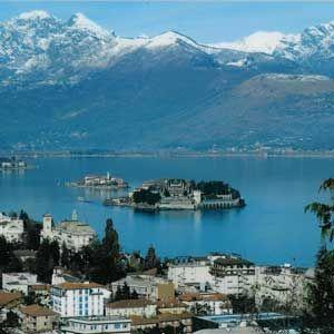 The majestic Isolas, Lake Maggiore, Italy.