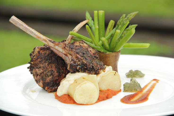 Lamb Chop served with Mash Potato and Carrot Sauce #HyattRegencyYogya