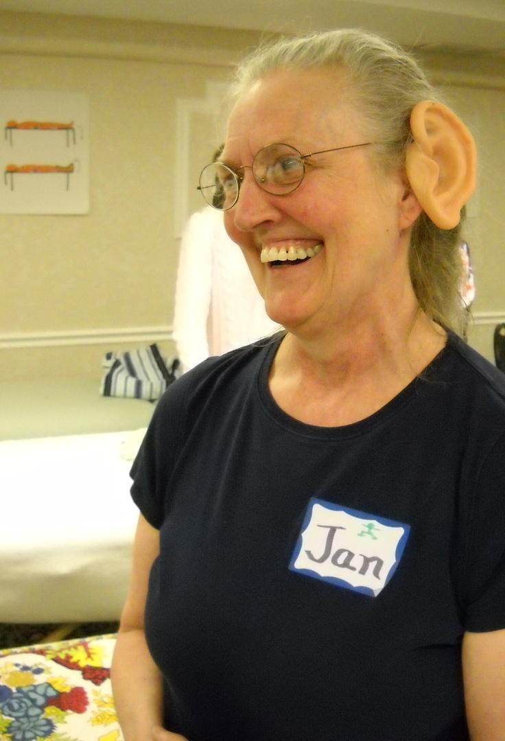 Delightful playfulness :-)) Ear Reflexology. www.AmericanAcademyofReflexology.com
