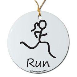 fun runner girl symbol