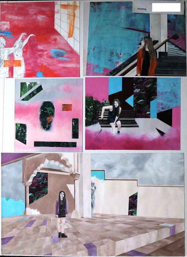 Top Art Exhibition - Painting » NZQA 2015 Hannah Lawn, Rosehill College Board3