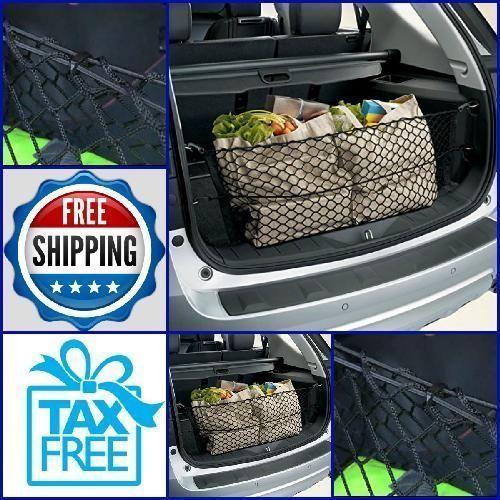 Envelope Trunk Cargo Net For Chevrolet Equinox GMC Terrain 2010-2017 Organized #TrunkNets